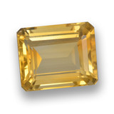 thumb image of 4.4ct Octagon Step Cut Yellow Golden Citrine (ID: 461282)