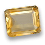 thumb image of 3.6ct Octagon Step Cut Yellow Golden Citrine (ID: 461284)