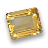 thumb image of 4.8ct Octagon Step Cut Yellow Golden Citrine (ID: 461287)