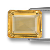 thumb image of 5.2ct Octagon Step Cut Yellow Golden Citrine (ID: 461311)