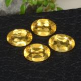 thumb image of 1.6ct Oval Facet Yellow Golden Citrine (ID: 469084)