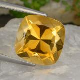 thumb image of 6.4ct Cushion-Cut Yellow Golden Citrine (ID: 477394)