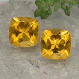 thumb image of 7.6ct Cushion-Cut Yellow Golden Citrine (ID: 477440)
