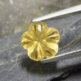 thumb image of 2.2ct Carved Flower Yellow Golden Citrine (ID: 480067)