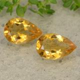 thumb image of 1.1ct Pear Facet Deep Golden Orange Citrine (ID: 489947)