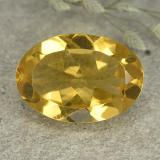 thumb image of 4.8ct Oval Facet Medium Golden Citrine (ID: 492615)