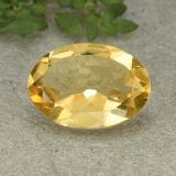 thumb image of 4.5ct Oval Facet Yellow Citrine (ID: 493112)