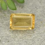 thumb image of 0.5ct Octagon Step Cut Yellow Citrine (ID: 493219)
