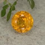 thumb image of 1.4ct Round Facet Golden Yellow Clinohumite (ID: 494994)