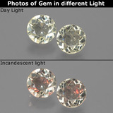 thumb image of 1.1ct Round Facet Green/Pink Color-Change Diaspore (ID: 388182)