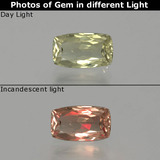 thumb image of 1ct Cushion-Cut Green/Pink Color-Change Diaspore (ID: 389051)