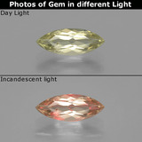 thumb image of 1ct Marquise Facet Green/Pink Color-Change Diaspore (ID: 390011)