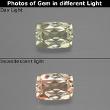 thumb image of 1.2ct Cushion-Cut Green/Pink Color-Change Diaspore (ID: 394628)
