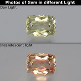 thumb image of 1.4ct Cushion-Cut Green/Pink Color-Change Diaspore (ID: 394784)