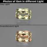 thumb image of 1ct Cushion-Cut Green/Pink Color-Change Diaspore (ID: 411536)