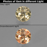 thumb image of 0.6ct Round Facet Green/Pink Color-Change Diaspore (ID: 436911)