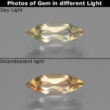 thumb image of 0.6ct Marquise Facet Green/Pink Color-Change Diaspore (ID: 437173)