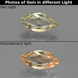 thumb image of 0.7ct Marquise Facet Green/Pink Color-Change Diaspore (ID: 437176)
