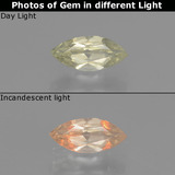 thumb image of 0.6ct Marquise Facet Green/Pink Color-Change Diaspore (ID: 437648)