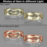 thumb image of 3.1ct Cushion-Cut Green/Pink Color-Change Diaspore (ID: 451571)