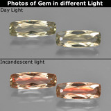 thumb image of 1ct Cushion-Cut Green to Pink Color-Change Diaspore (ID: 451576)
