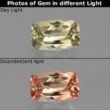 thumb image of 1.2ct Cushion-Cut Green/Pink Color-Change Diaspore (ID: 451675)