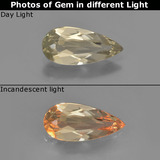 thumb image of 1.1ct Pear Facet Green/Pink Color-Change Diaspore (ID: 453927)