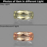 thumb image of 1ct Cushion-Cut Green to Pink Color-Change Diaspore (ID: 454004)