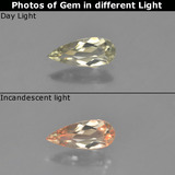 thumb image of 0.5ct Pear Facet Green/Pink Color-Change Diaspore (ID: 454039)
