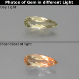 thumb image of 1ct Pear Facet Green/Pink Color-Change Diaspore (ID: 454208)