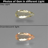 thumb image of 0.8ct Pear Facet Green/Pink Color-Change Diaspore (ID: 454212)