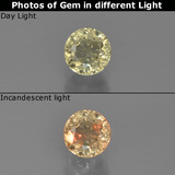 thumb image of 0.6ct Round Facet Green/Pink Color-Change Diaspore (ID: 454252)