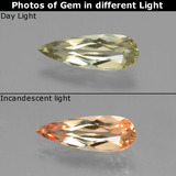 thumb image of 1.4ct Pear Facet Green/Pink Color-Change Diaspore (ID: 454297)