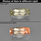 thumb image of 0.9ct Cushion-Cut Green to Pink Color-Change Diaspore (ID: 454482)