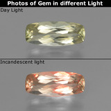 thumb image of 1ct Cushion-Cut Green/Pink Color-Change Diaspore (ID: 454554)