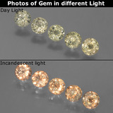 thumb image of 1.6ct Round Facet Green/Pink Color-Change Diaspore (ID: 454602)