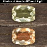 thumb image of 1ct Cushion-Cut Green/Pink Color-Change Diaspore (ID: 478379)