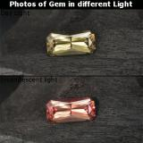 thumb image of 0.7ct Octagon / Scissor Cut Greenish Brown To Red Pink Color-Change Garnet (ID: 238098)