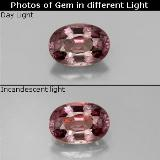 thumb image of 0.6ct Oval Facet Purple to Red Pink Color-Change Garnet (ID: 329590)