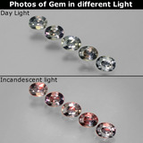 thumb image of 1.2ct Oval Facet Multicolor Color-Change Sapphire (ID: 386781)
