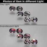 thumb image of 1.3ct Oval Facet Multicolor Color-Change Sapphire (ID: 386784)
