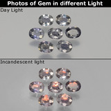 thumb image of 1.5ct Oval Facet Multicolor Color-Change Sapphire (ID: 397231)
