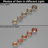 thumb image of 0.2ct Oval Facet Multicolor Color-Change Sapphire (ID: 401627)