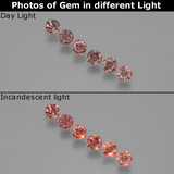 thumb image of 1.1ct Round Facet Violet to Red Color-Change Sapphire (ID: 401726)