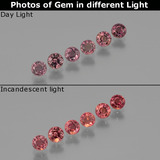 thumb image of 1.8ct Round Facet Violet to Red Color-Change Sapphire (ID: 401729)