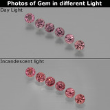 thumb image of 1.4ct Round Facet Violet to Red Color-Change Sapphire (ID: 401730)