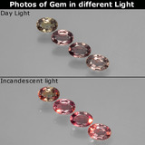 thumb image of 1.1ct Oval Facet Multicolor Color-Change Sapphire (ID: 403746)