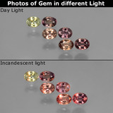 thumb image of 1.3ct Oval Facet Multicolor Color-Change Sapphire (ID: 403762)
