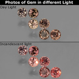 thumb image of 1.5ct Round Facet Multicolor Color-Change Sapphire (ID: 403764)