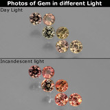 thumb image of 1.4ct Round Facet Multicolor Color-Change Sapphire (ID: 403772)